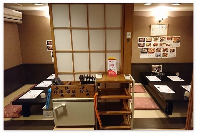 「津軽海峡 路地っこ」の個室2部屋