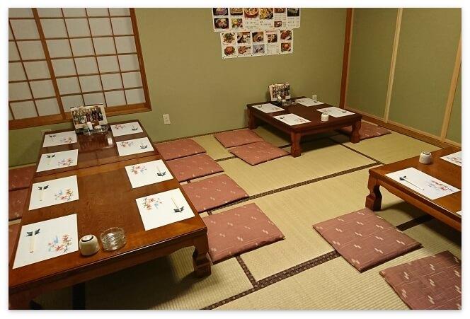 「津軽海峡 路地っこ」20人用の部屋