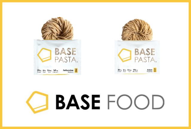 BASE PASTAのフェットチーネとアジアン